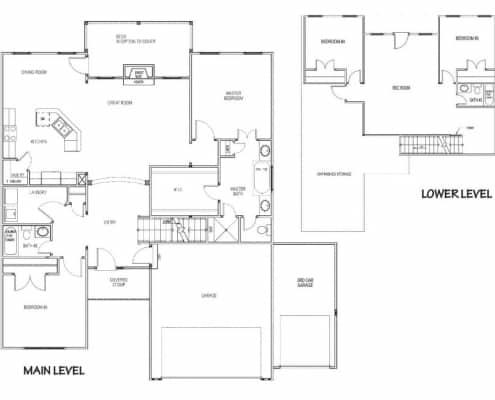 The Fairway Floor Plan