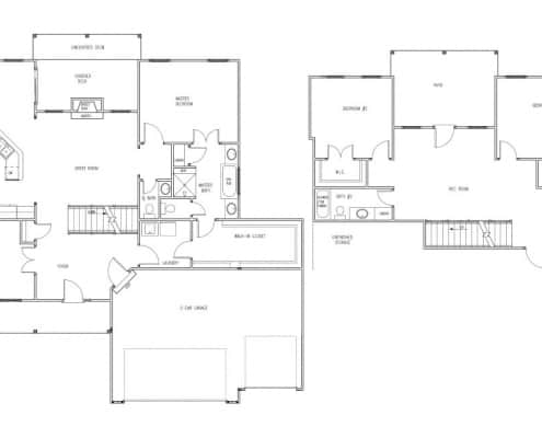 The Hillcrest Floor Plan